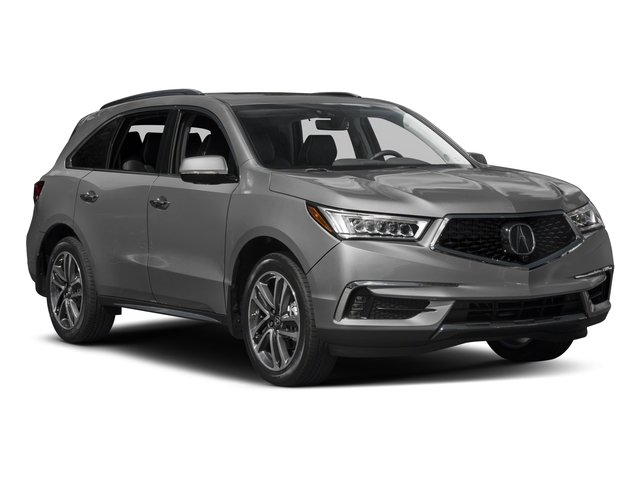 2017 Acura MDX Prices and Values Utility 4D Advance 2WD V6 side front view