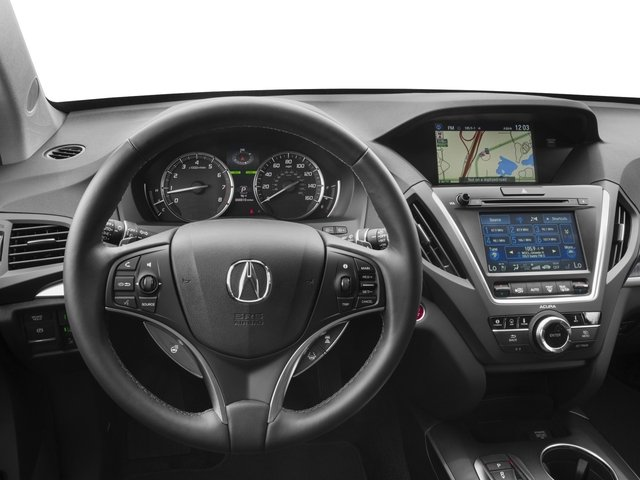 2017 Acura MDX Prices and Values Utility 4D Advance 2WD V6 driver's dashboard