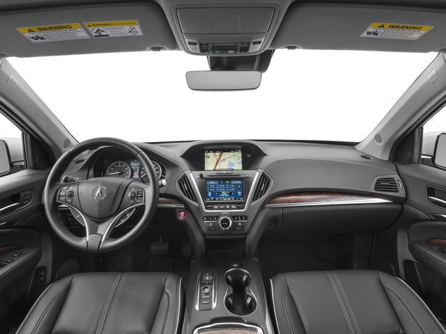 2017 Acura MDX Prices and Values Utility 4D Advance 2WD V6 full dashboard