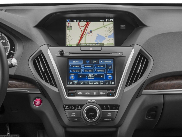 2017 Acura MDX Prices and Values Utility 4D Advance 2WD V6 stereo system