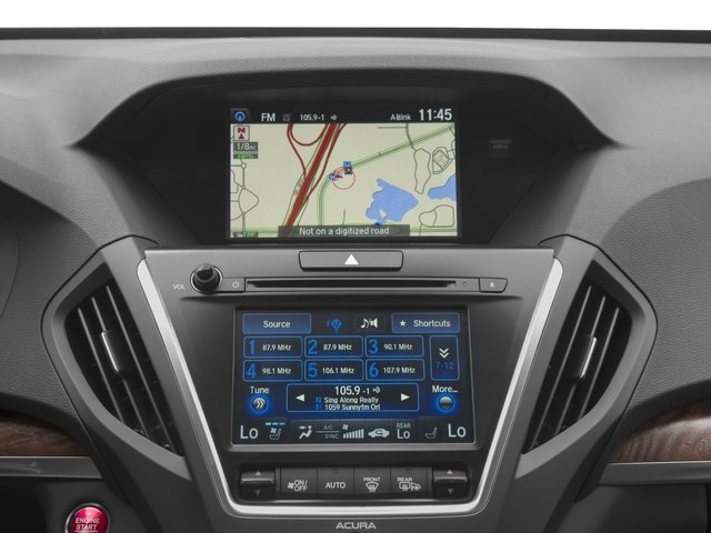 2017 Acura MDX Prices and Values Utility 4D Advance 2WD V6 navigation system