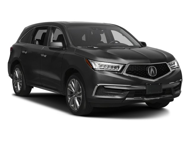 2017 Acura MDX Prices and Values Utility 4D Technology 2WD V6 side front view