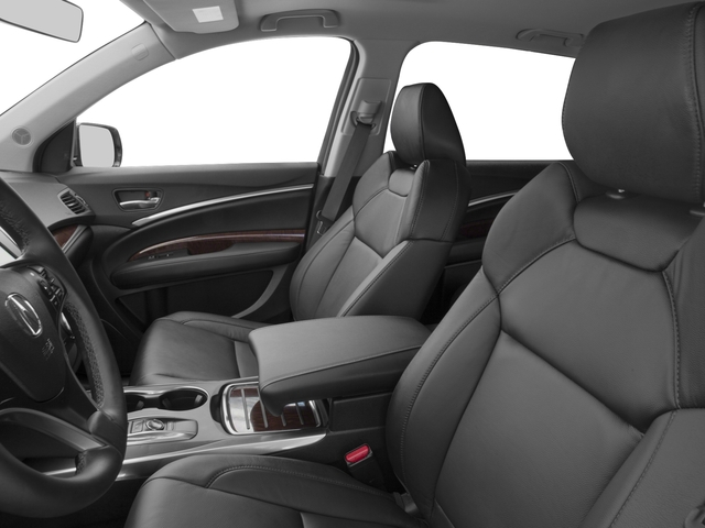 2017 Acura MDX Pictures MDX FWD w/Technology Pkg photos front seat interior