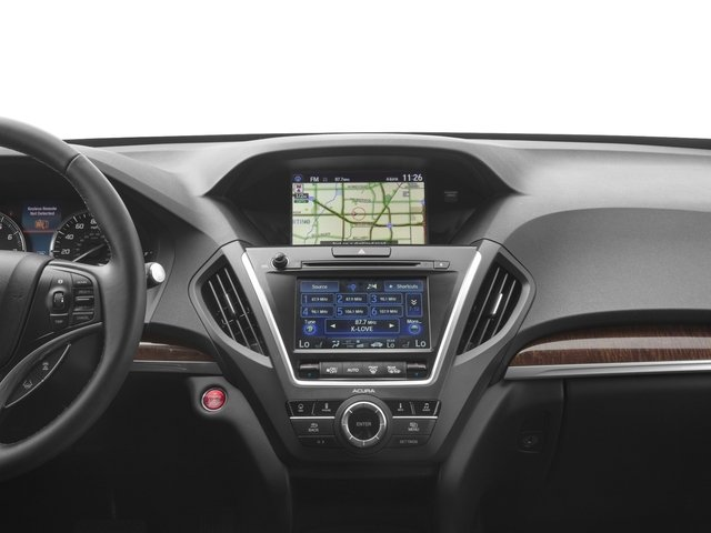 2017 Acura MDX Pictures MDX FWD w/Technology Pkg photos stereo system