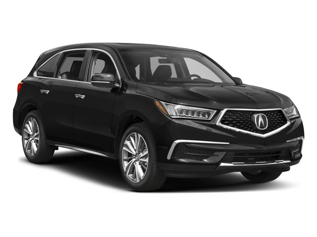 2017 Acura MDX Pictures MDX Utility 4D Technology AWD V6 photos side front view