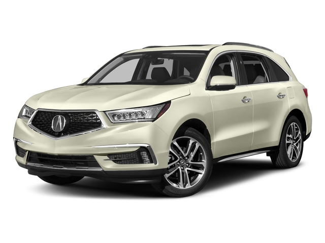 2017 Acura Mdx Base Price Sh Awd W Advance Entertainment Pkg Pricing Side