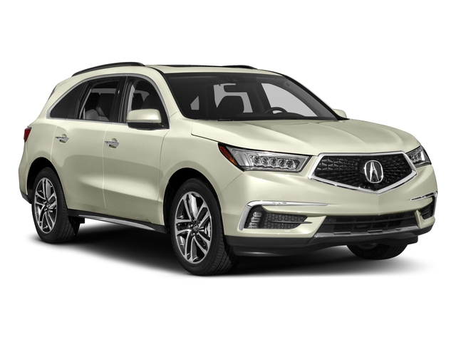 2017 Acura MDX Pictures MDX Utility 4D Advance DVD AWD V6 photos side front view