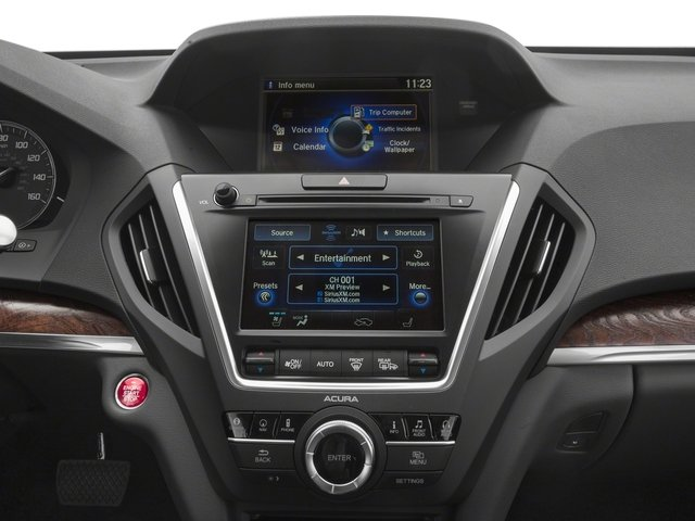 2017 Acura MDX Pictures MDX SH-AWD w/Advance/Entertainment Pkg photos stereo system
