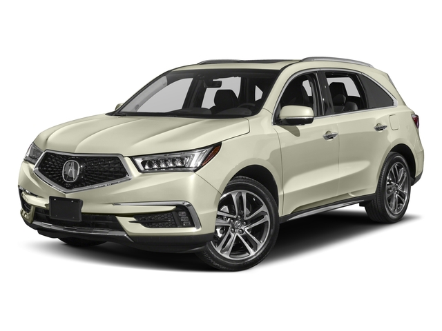 2017 Acura MDX Base Price FWD w/Advance/Entertainment Pkg Pricing side front view