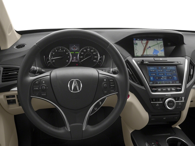 2017 Acura MDX Base Price FWD w/Technology/Entertainment Pkg Pricing driver's dashboard