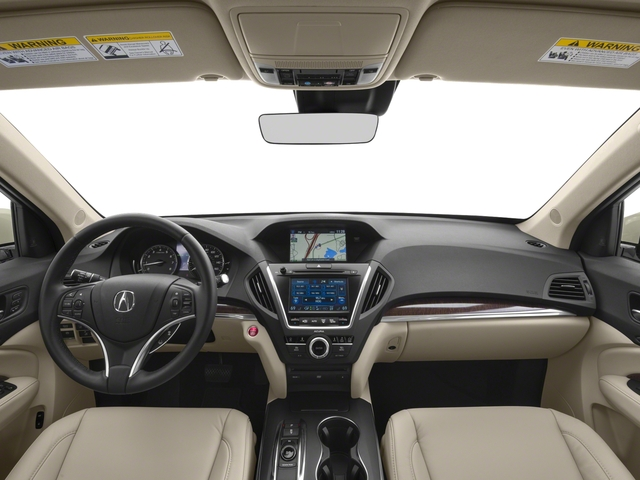 2017 Acura MDX Base Price FWD w/Technology/Entertainment Pkg Pricing full dashboard