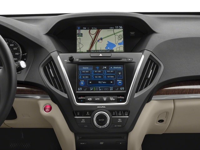 2017 Acura MDX Base Price FWD w/Technology/Entertainment Pkg Pricing stereo system