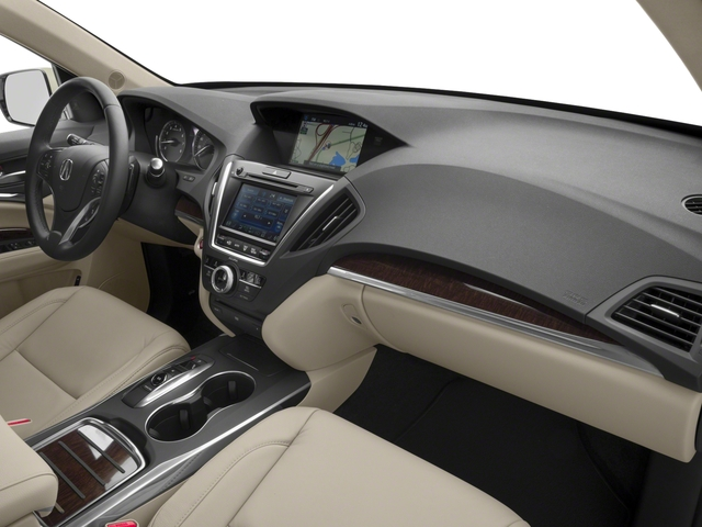 2017 Acura MDX Base Price FWD w/Technology/Entertainment Pkg Pricing passenger's dashboard