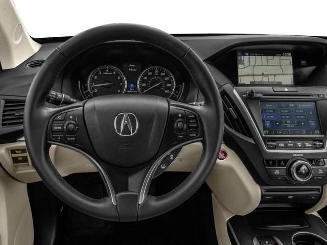 2017 Acura MDX Pictures MDX Utility 4D Technology DVD AWD V6 photos driver's dashboard