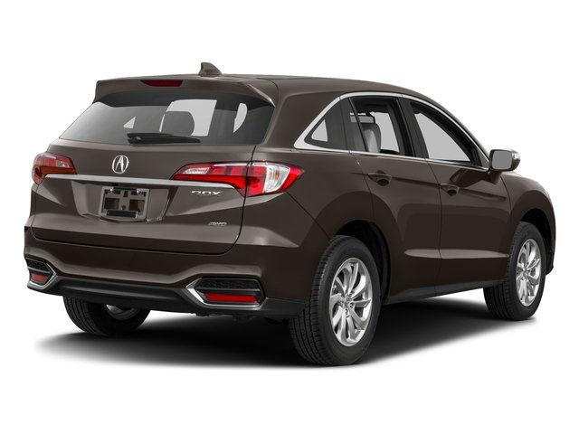 2017 Acura RDX Prices and Values Utility 4D Technology AWD V6 side rear view