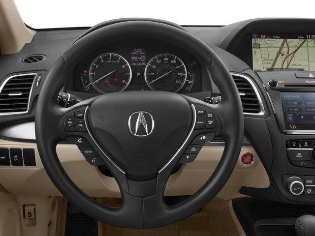 2017 Acura RDX Prices and Values Utility 4D Technology AWD V6 driver's dashboard