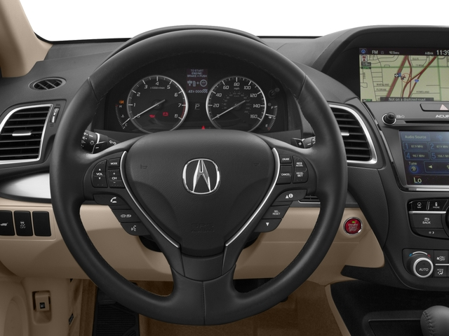 2017 Acura RDX Pictures RDX AWD w/Technology Pkg photos driver's dashboard