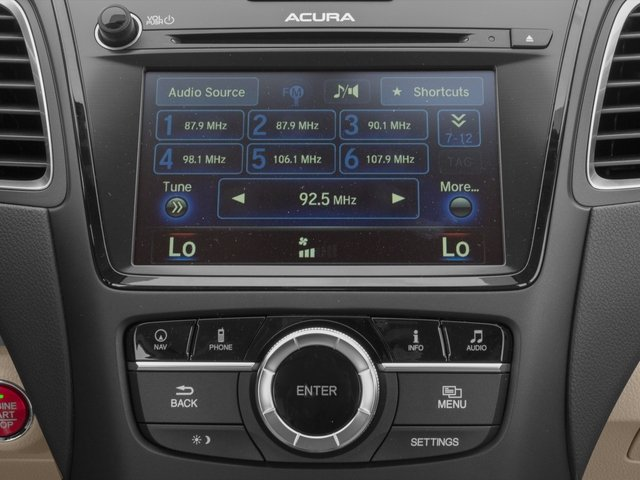 2017 Acura RDX Pictures RDX AWD w/Technology Pkg photos stereo system