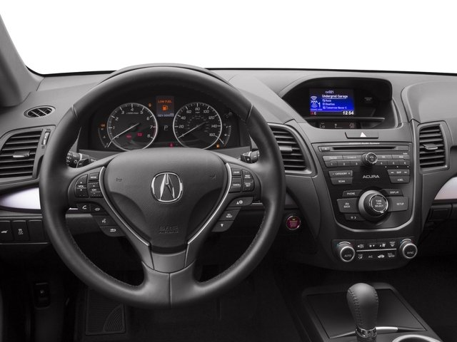 2017 Acura RDX Base Price AWD Pricing driver's dashboard