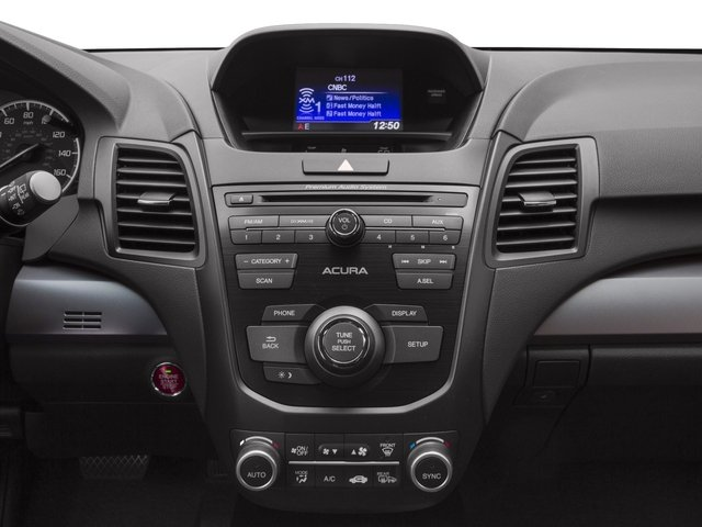 2017 Acura RDX Base Price AWD Pricing stereo system
