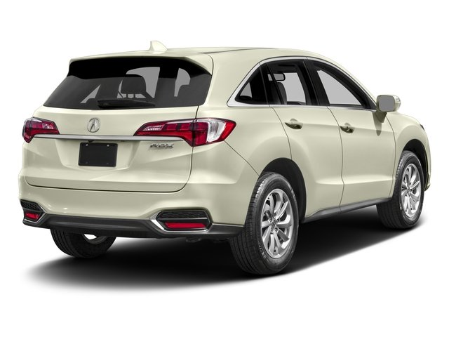 2017 Acura RDX Prices and Values Utility 4D 2WD V6 side rear view