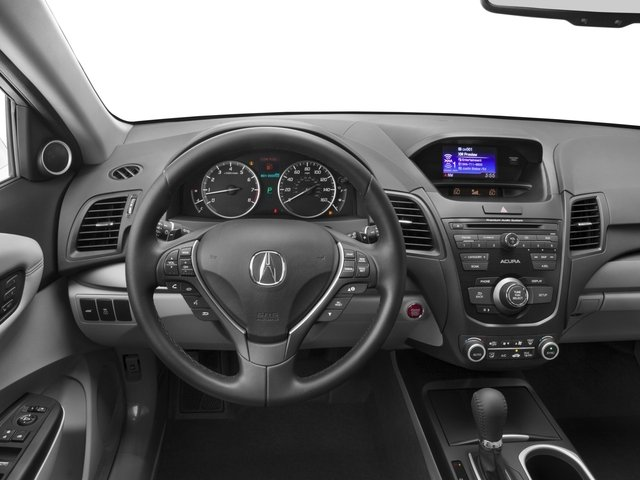 2017 Acura RDX Prices and Values Utility 4D 2WD V6 driver's dashboard