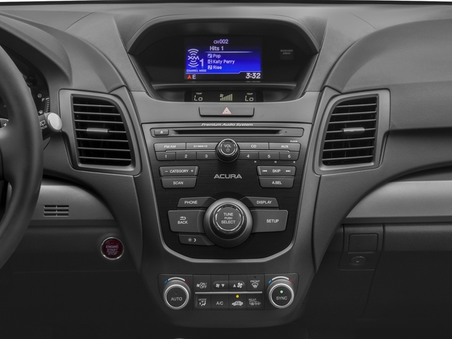2017 Acura RDX Base Price AWD w/AcuraWatch Plus Pricing stereo system