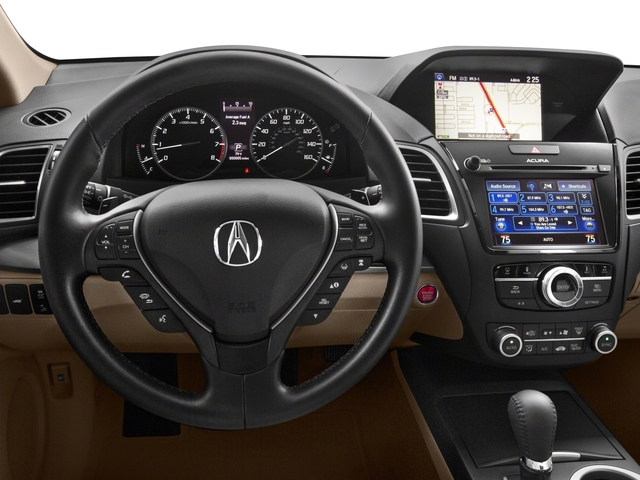2017 Acura RDX Base Price FWD w/Technology/AcuraWatch Plus Pkg Pricing driver's dashboard