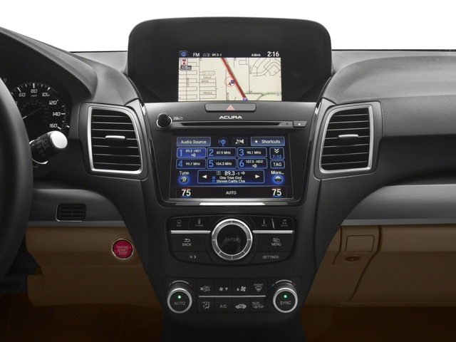 2017 Acura RDX Base Price FWD w/Technology/AcuraWatch Plus Pkg Pricing stereo system