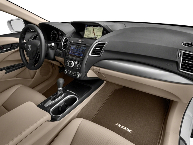 2017 Acura RDX Base Price FWD w/Technology/AcuraWatch Plus Pkg Pricing passenger's dashboard