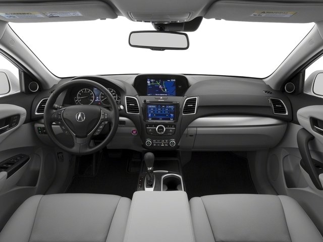 2017 Acura RDX Prices and Values Utility 4D Advance 2WD V6 full dashboard