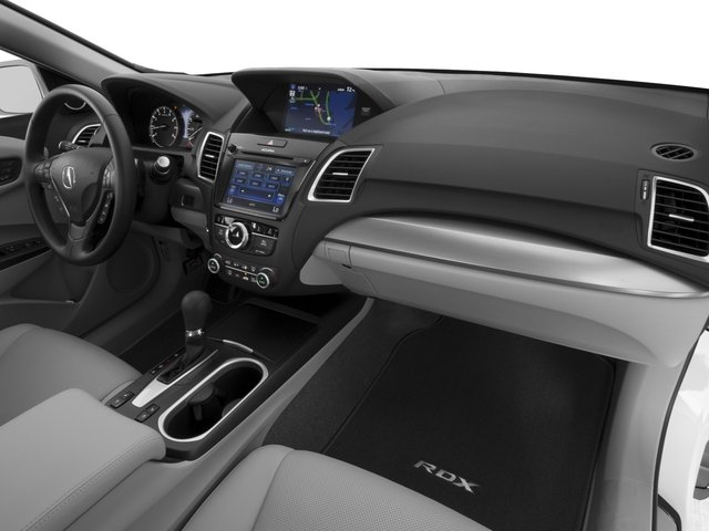 2017 Acura RDX Prices and Values Utility 4D Advance 2WD V6 passenger's dashboard