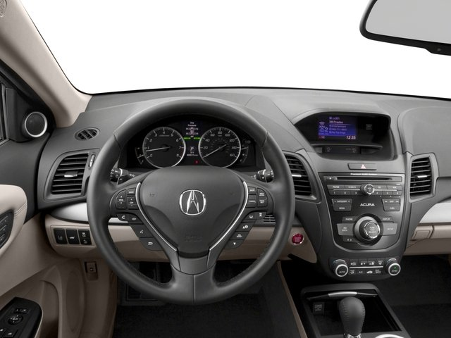 2017 Acura RDX Base Price FWD w/AcuraWatch Plus Pricing driver's dashboard