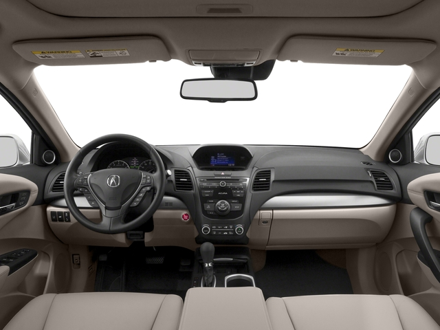 2017 Acura RDX Base Price FWD w/AcuraWatch Plus Pricing full dashboard