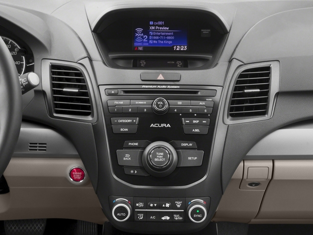 2017 Acura RDX Base Price FWD w/AcuraWatch Plus Pricing stereo system