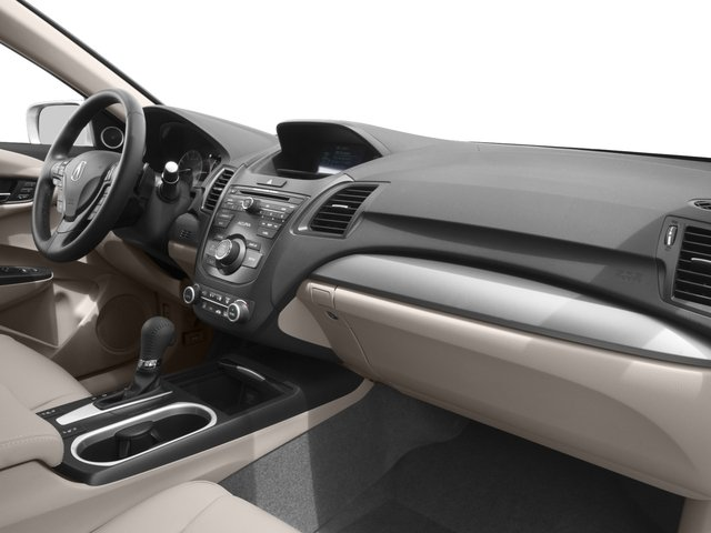 2017 Acura RDX Base Price FWD w/AcuraWatch Plus Pricing passenger's dashboard