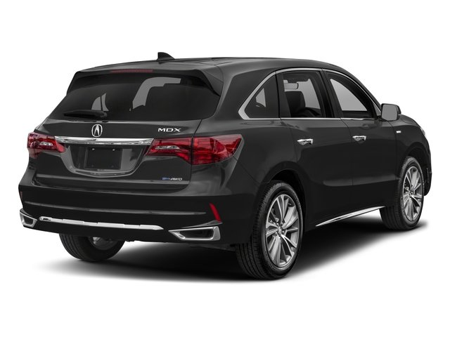 2017 Acura MDX Pictures MDX Utility 4D Technology AWD Hybrid photos side rear view
