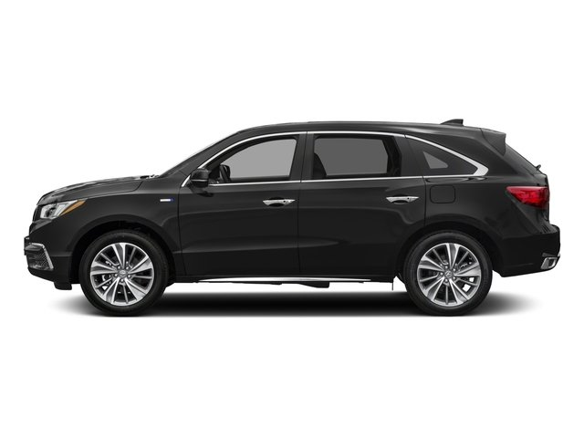 2017 Acura MDX Prices and Values Utility 4D Technology AWD Hybrid side view
