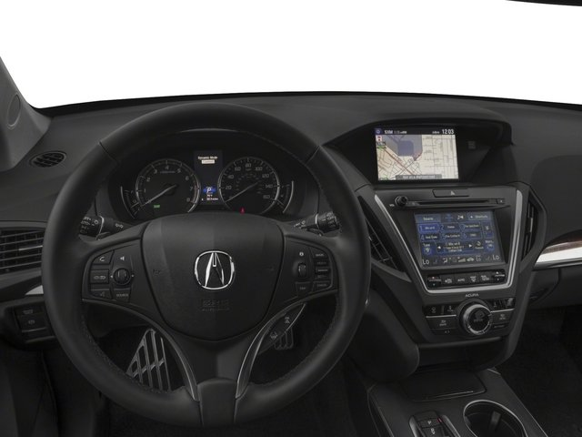 2017 Acura MDX Prices and Values Utility 4D Technology AWD Hybrid driver's dashboard