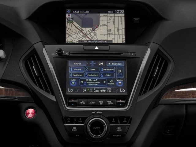 2017 Acura MDX Prices and Values Utility 4D Technology AWD Hybrid stereo system