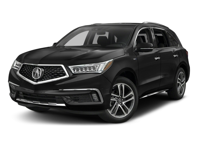 2017 Acura MDX Base Price SH-AWD Sport Hybrid w/Advance Pkg Pricing side front view