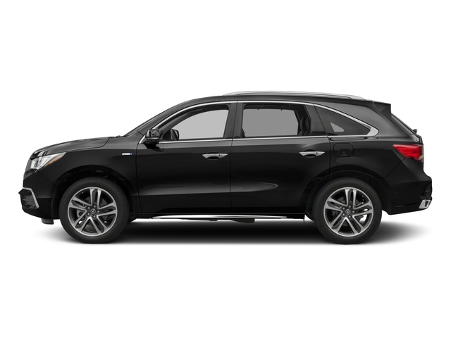 2017 Acura MDX Base Price SH-AWD Sport Hybrid w/Advance Pkg Pricing side view