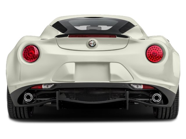 2017 Alfa Romeo 4C Coupe Pictures 4C Coupe photos rear view