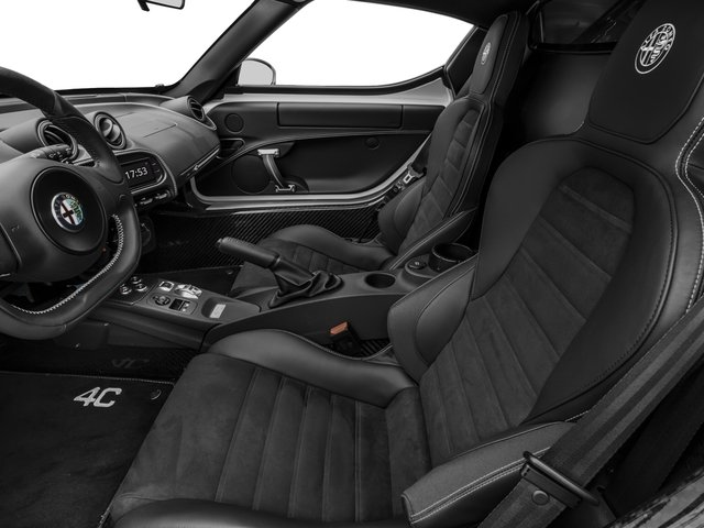 2017 Alfa Romeo 4C Coupe Pictures 4C Coupe photos front seat interior