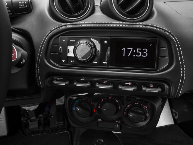 2017 Alfa Romeo 4C Coupe Pictures 4C Coupe photos stereo system