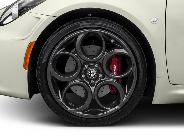2017 Alfa Romeo 4C Coupe Prices and Values Coupe 2D wheel