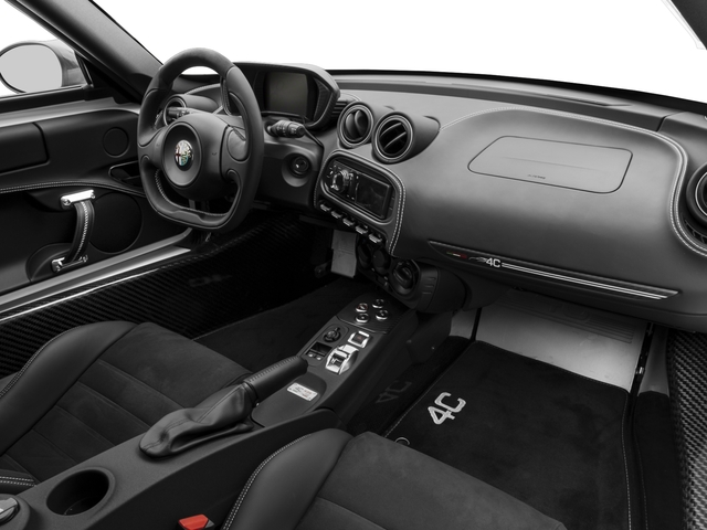 2017 Alfa Romeo 4C Coupe Pictures 4C Coupe photos passenger's dashboard