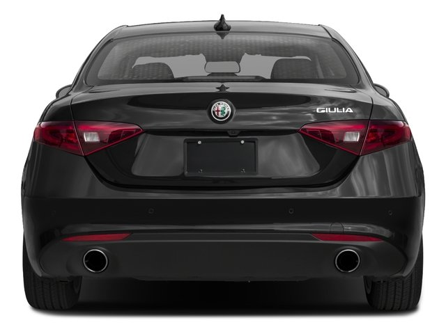 2017 Alfa Romeo Giulia Base Price AWD Pricing rear view