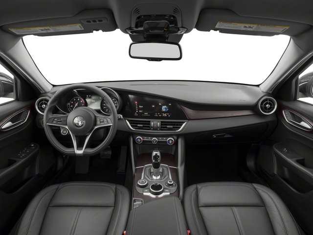 2017 Alfa Romeo Giulia Pictures Giulia AWD photos full dashboard