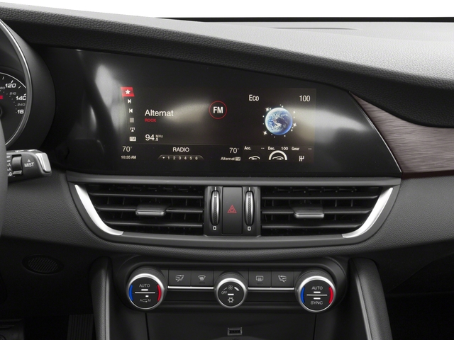 2017 Alfa Romeo Giulia Prices and Values Sedan 4D Ti stereo system